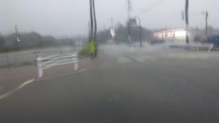 ミルクロードと笹川通りの交差点