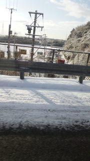 高速から見た国道365号