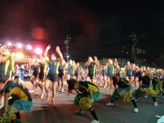 コンテスト踊りフェスタの様子
