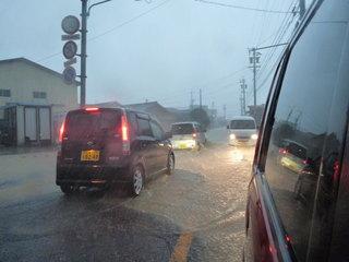 県道8号と国道1号の交差点付近(采女町内)