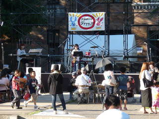 Jazzフェス宣伝ライブ